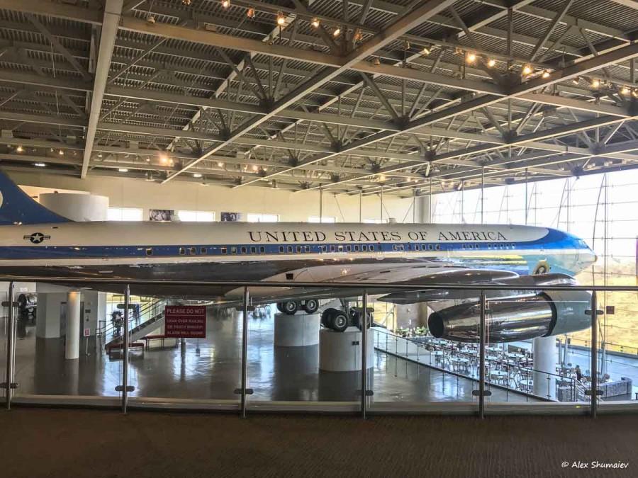 Самолет американских президентов. Air Force One & Marine One: библиотека Рейгана