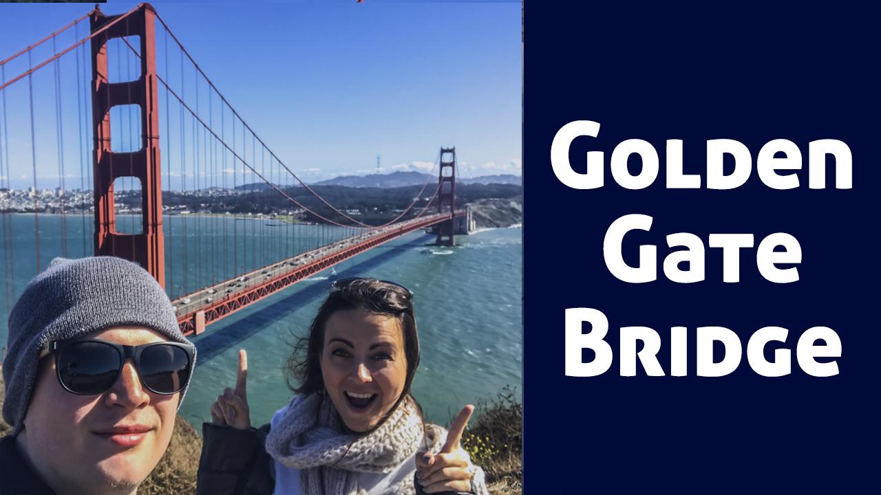 Самый крутой вид на мост Золотые Ворота!